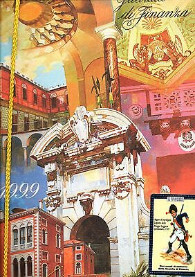 1999 Calendario Guardia Di Finanza + Calendarietto Plastificato