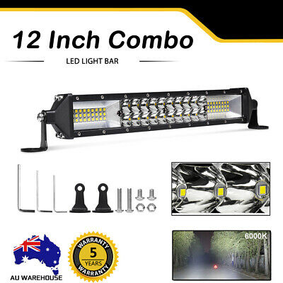 "2088W 52"" inch CREE LED Work Light Bar Spot Flood Combo Offroad SUV ATV 50"" 51"""