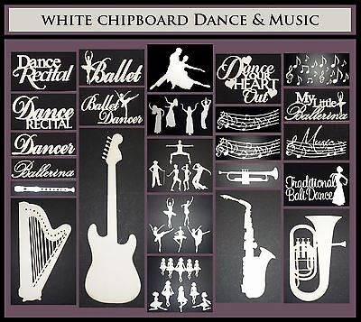 White Chipboard - Dance and Music