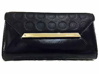 Mimco Genuine Cow Leather Large Origami Wallet in Black $249