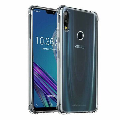 For Asus Zenfone Phone Shockproof Soft Transparent TPU Silicone Case Cover