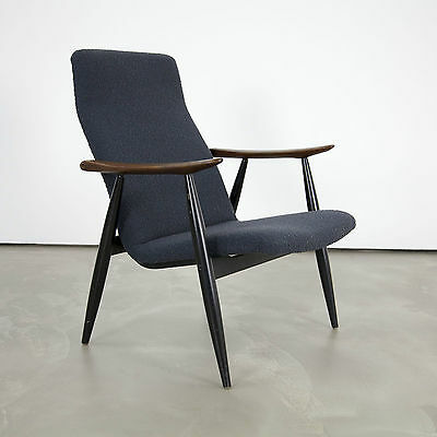 Danish Modern Arm Chair by Olli Borg for Asko Finland 60s | Teak Sessel 60s no.2