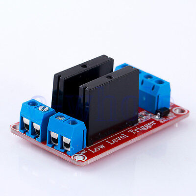 5V 2 Channel SSR G3MB-202P Solid State Relay Module For Arduino ARM DSP PIC DT
