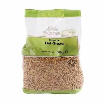 ORGANIC OAT GROATS - Whole Grain - 500g, 1kg, 1 5kg, 2kg - Free UK