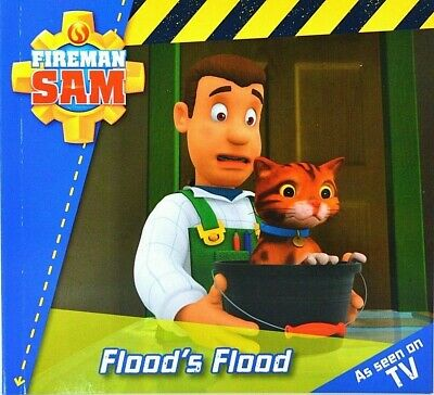 Flood's Flood | Fireman Sam | Children's Story | Picture Book | New