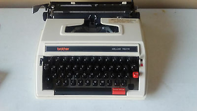 Brother Deluxe 760Tr Typewriter- Vgc