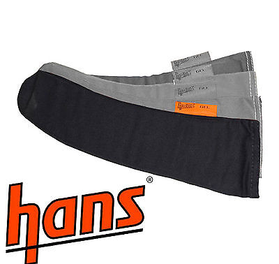 Hans outil Remplacement Gel Ouate Kit - FHR / COURSE/ Rally / RALLYING - Noir
