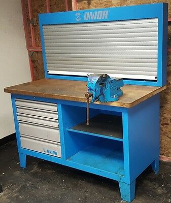 Unior Work Bench with Record 23 Vice