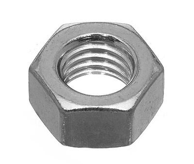 "UNF Fine Thread Hex Nuts 1/4'' 5/16"" 3/8"" 7/16"" 1/2"" ANSI B18.2.2 Zinc Plated"