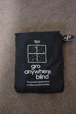 The Gro Company Go Anywhere Portable Black Out Curtain Blind