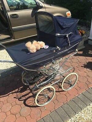 Vintage Silver Cross Kensington Pram Carriage New Accessories Rare USA Seller
