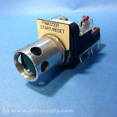 Allen Bradley 800T-Qah10A Contact Push Button Illuminated Usip