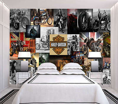 Vintage Picture 3D Full Wall Mural Photo Wallpaper Printing Home Kids Decoration