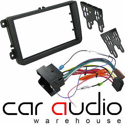 VOLKSWAGEN VW Passat 2004 - 2011 Car Stereo Radio Double Din Fascia Facia Kit