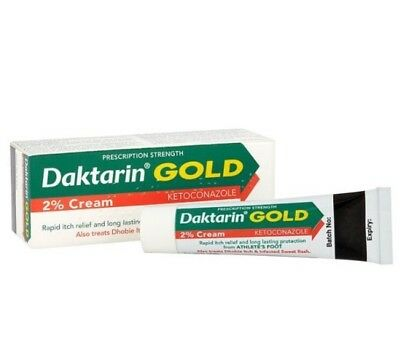 Daktarin Gold Cream for Fungal Infections,Infected Sweat Rash and Athlete's Foot