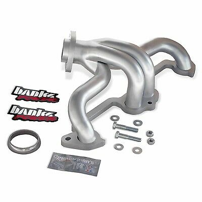 Banks Power 51316 TorqueTube Exhaust Manifolds Fits Wrangler (TJ) Wrangler (YJ)