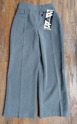 girls grey school trousers aged 6-7 years, still with label on, brand new