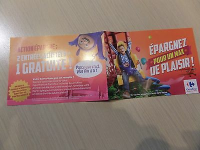 tickets parc attraction