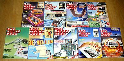 The Micro User - 1985 - BBC Computer Magazines (9 issues)