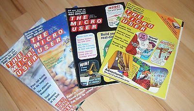 The Micro User - 1983,84 - BBC Computer Magazines (4 issues)