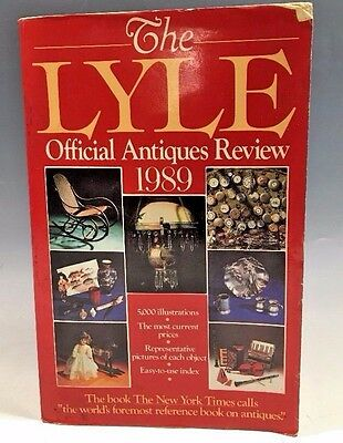 The Lyle Official Antiques Review 1989 Paperback