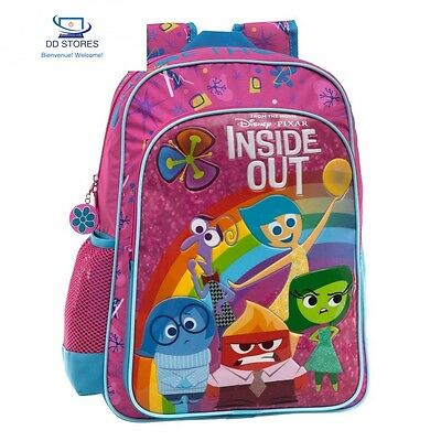 Disney Sac à Dos Adaptable au Chariot Inside Out Set de Scolaires, 40 cm,...