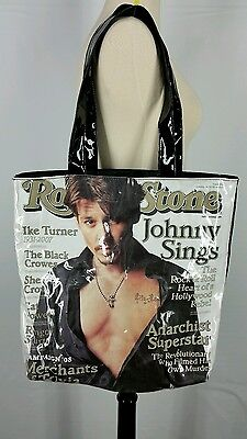 Rolling Stone Magazine Cover Tote Bag Johnny Depp Issue 1044 January 2008