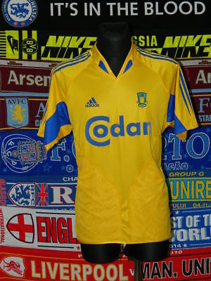 3/5 Brondby IF adults M 2003 football shirt jersey trikot soccer