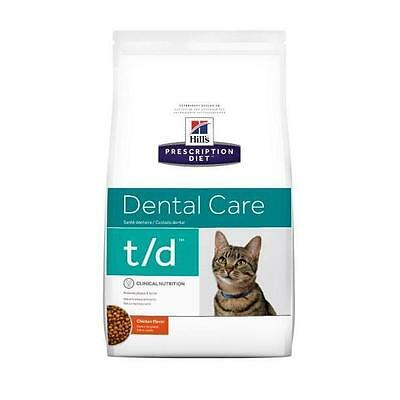 Hills Feline T/D 3kg prescription cat food