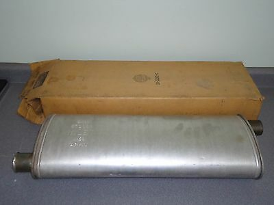 New NOS OEM GM Muffler 570089 1957 1958 Olds Oldsmobile 88 98 Dual Exhaust