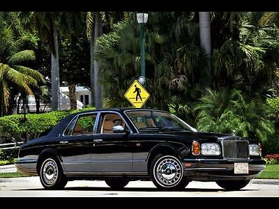 1999 Rolls-Royce Silver Seraph 18K Miles BLACK ONLY 18K MILES DEALER SERVICED CHROMED WHEELS CLEAN CARFAX