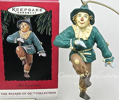 1994 Hallmark The Scarecrow Keepsake Ornament The Wizard of Oz Scare Crow MIB