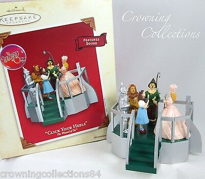 2003 Hallmark Click Your Heels The Wizard of Oz MAGIC Ornament Dorothy Glinda