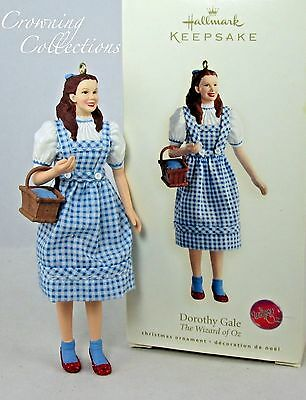 2007 Hallmark Dorothy Gale Keepsake Ornament The Wizard of Oz RARE Toto MIB