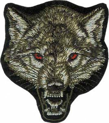 Patch - Animals - Wolf Iron On Gifts New Licensed p-3275