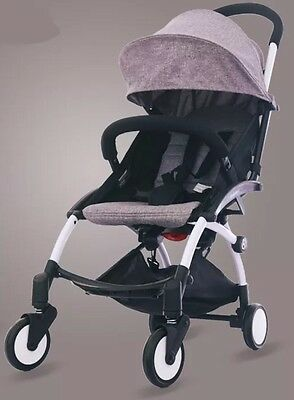 Compact 5.8kg Lightweight Baby Stroller Pram Easy Fold Travel Yoyo Carry-on .