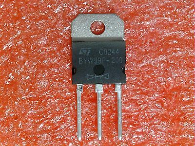 ST Microelectronics BYW29F-200 High Efficiency fast recovery Diode *2 Stück*Neu*