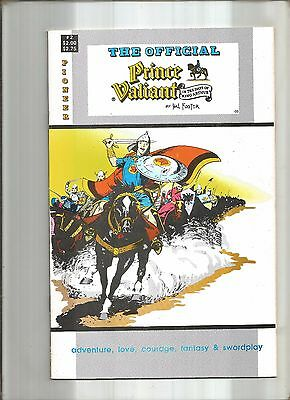 Official Prince Valiant #2  Hal Foster  Pioneer Comics  1988  Nice!!!