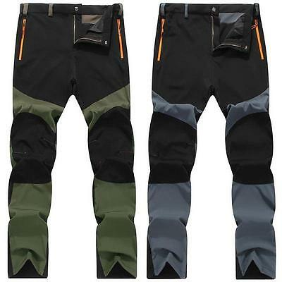 AU STOCK New Mens Women Waterproof Trousers Rain Pants Motorcycle Fishing Hiking