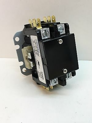 Packard C230A Magnetic Air Con. Contactor 30A FLA, 40A RES 24V Coil 2-Pole