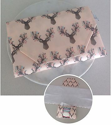 Nappy change mat clutch with wipe down mat || ON SALE ||