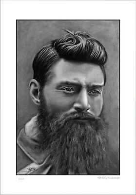 Ned Kelly   Portrait       Limited Edition