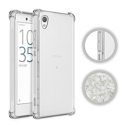 For Sony Xperia 360° Shockproof Soft Transparent Gel TPU Silicone Case Cover
