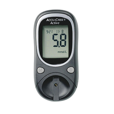 Accu-Chek Glucose Monitor Device Only Accu Chek Virtually No Pain