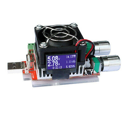 35W USB Electronic Load Constant Current Voltage Capacity Battery Tester