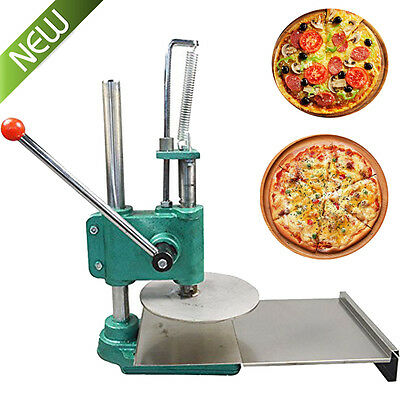 Household Pizza Dough Pastry Manual Press Machine Roller Sheeter Pasta Maker UPS