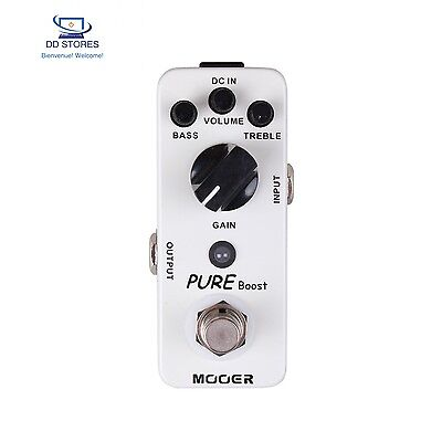 Mooer Pure Boost Pédale Booster 20 dB - Eq 2 bandes