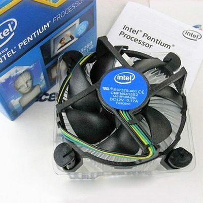 Computer PC CPU Cooling Fan Heatsink Cooler Quiet For Intel 775 1151 1155 1156