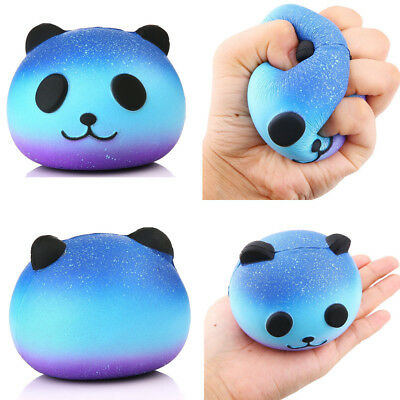 AUStock Panda Cream Scented Squishy Slow Rising Squeeze Kid Toy Phone Charm Gift
