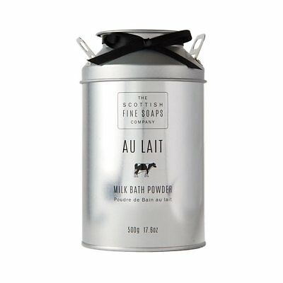 Bath Powder Bath Powder 500 Size - AU LAIT Scottish Fine Soaps